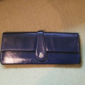Vintage 1960's? Saks Fifth Avenue Leather Clutch